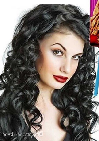 2018 Diy Magic Hair Curler Roller Magic Circle Hair Styling Rollers Intended For Electric Curlers For Long Hair (View 2 of 25)