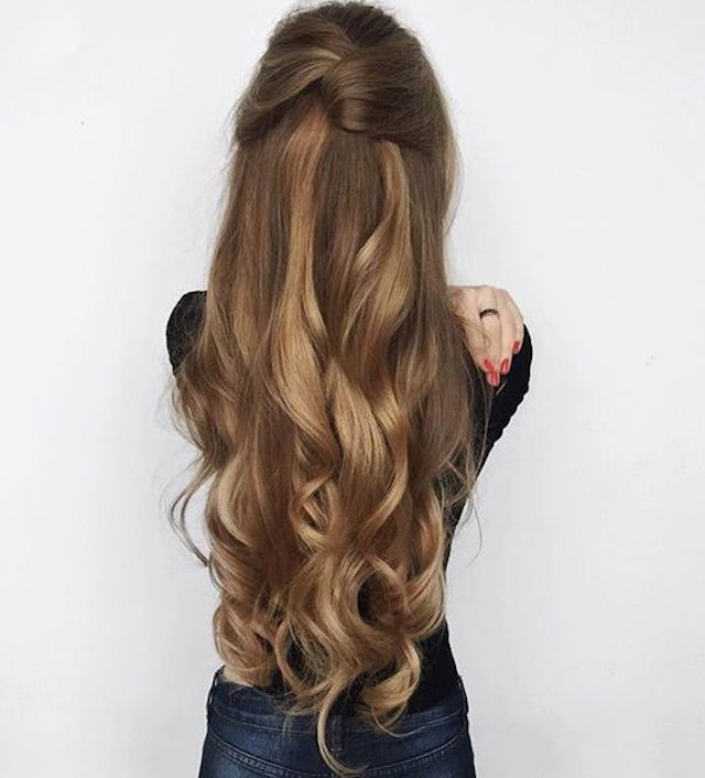 2018 Wedding Hair Trends | The Ultimate Wedding Hair Styles Of 2018 In Long Hairstyles Dos (View 20 of 25)