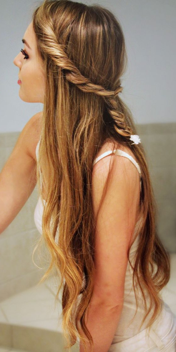 2019 Cute Hairstyles For Teenage Girls ! 70 Top Hair Styles For Long Hairstyles Cute (View 24 of 25)