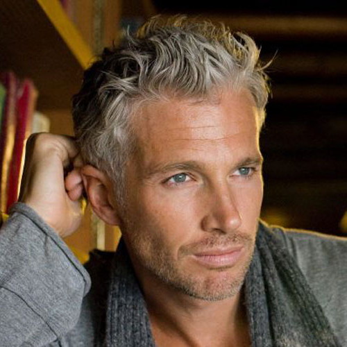 21 Best Men's Hairstyles For Silver And Grey Hair Men (2019 Guide) Inside Long Hairstyles Grey Hair (View 24 of 25)