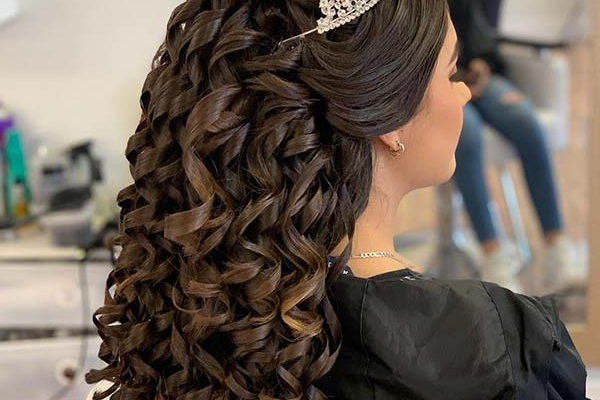 21 Best Quinceanera Hairstyles For Your Big Day | Beauty In Long Hair Quinceanera Hairstyles (View 18 of 25)