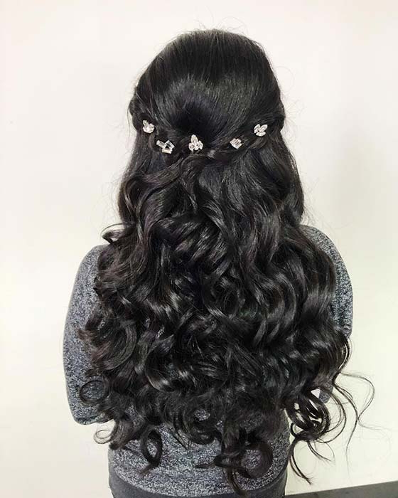 21 Best Quinceanera Hairstyles For Your Big Day | Page 2 Of 2 | Stayglam With Long Hair Quinceanera Hairstyles (View 17 of 25)