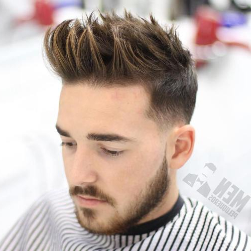 21 Best Short Spiky Haircuts For Guys – Men's Hairstyles 2019 Inside Spiky Long Hairstyles (View 12 of 25)
