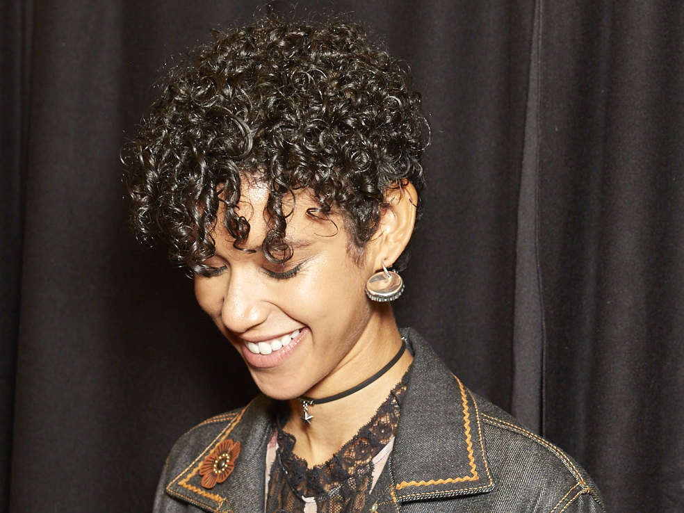 21 Curly Hairstyles That Are Seriously Cute For 2017 | Glamour In Dishevelled Side Tuft Prom Hairstyles (View 21 of 25)