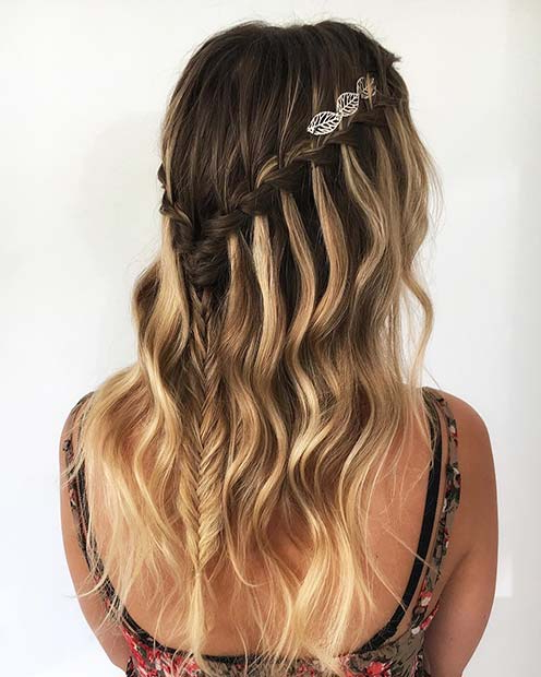 21 Cute Braided Hairstyles For Summer 2018 | Stayglam For Cute Braiding Hairstyles For Long Hair (View 13 of 25)