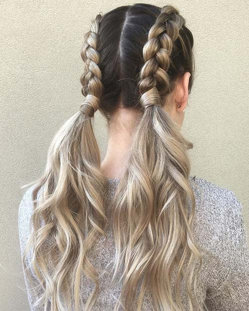 21 Cute Braided Hairstyles For Summer 2018 | Stayglam Throughout Cute Braided Hairstyles For Long Hair (View 3 of 25)