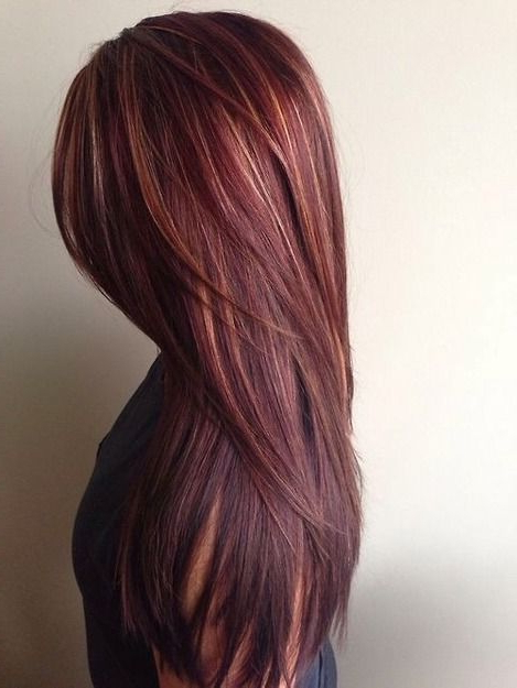 21 Great Layered Hairstyles For Straight Hair 2019 – Pretty Designs Pertaining To Long Hairstyles Layered Straight (View 3 of 25)