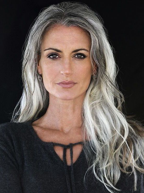 Featured Photo of Long Hairstyles For Grey Haired Woman