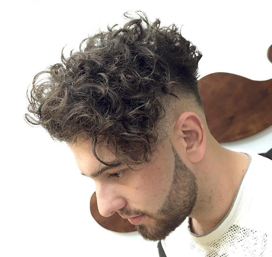21 New Men's Hairstyles For Curly Hair For Long Curly Haircuts For Men (View 8 of 25)
