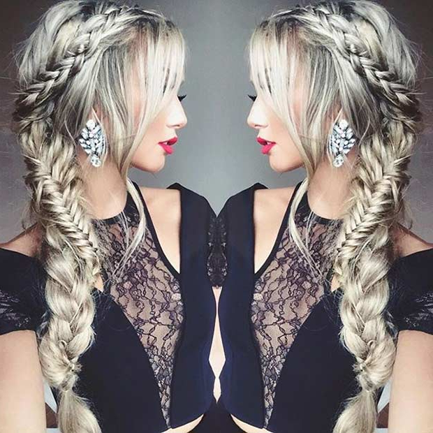 21 Pretty Side Swept Hairstyles For Prom | Stayglam Throughout Long And Loose Side Prom Hairstyles (View 11 of 25)