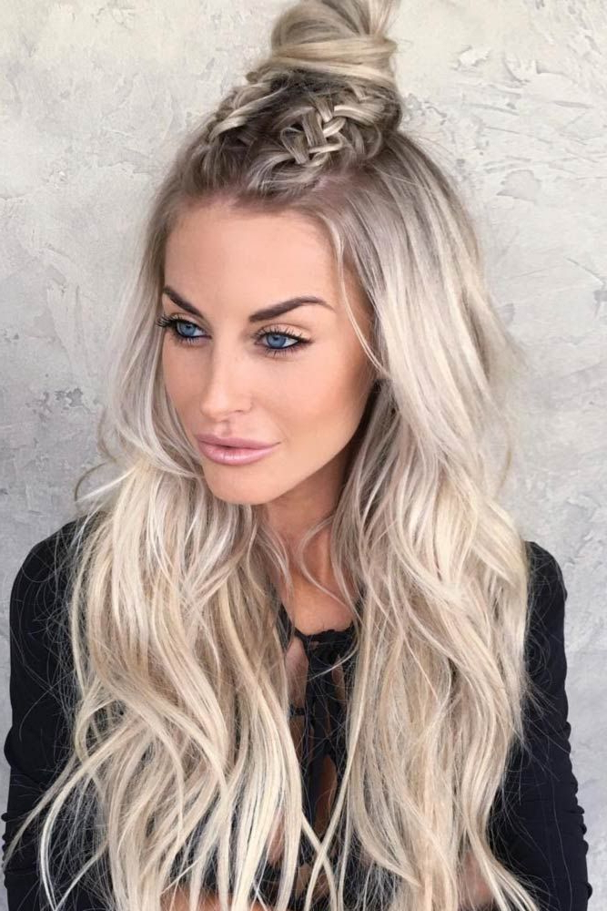 21 Straight Hairstyles For Long Hair | Hair | Pinterest | Peinados Intended For Hairstyles For Long Hair (View 14 of 25)