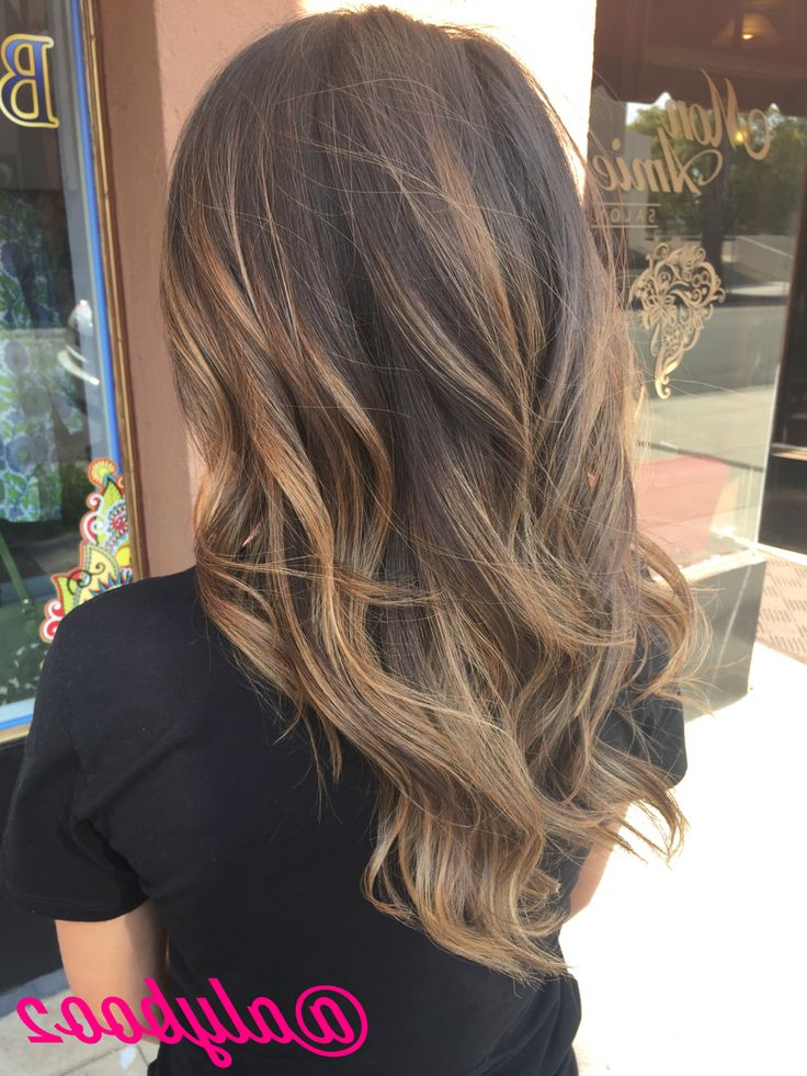 22 Blonde Balayage Hair Designs To Upgrade Your Look – Pretty Designs Pertaining To Long Dark Hairstyles With Blonde Contour Balayage (View 13 of 25)