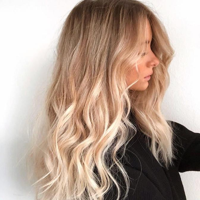 22 Blonde Hair Colors, From Golden To Caramel | Wella Professionals Within Long Blonde Hair Colors (View 20 of 25)