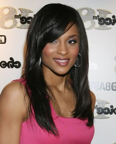 22 Ciara Hairstyles Ciara Hair Pictures – Pretty Designs Regarding Long Hairstyles With Side Part (View 23 of 25)