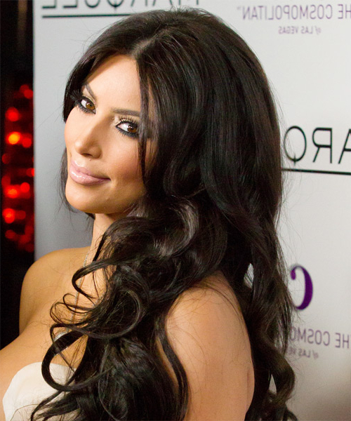 22 Kim Kardashian Hairstyles, Hair Cuts And Colors For Long Layered Hairstyles Kim Kardashian (View 17 of 25)