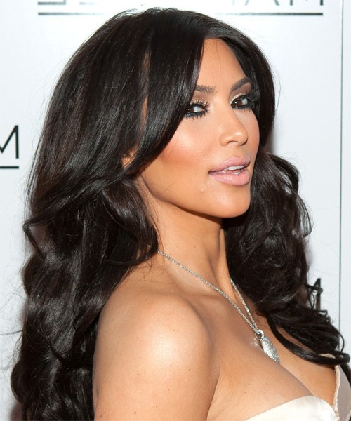 22 Kim Kardashian Hairstyles, Hair Cuts And Colors Pertaining To Kim Kardashian Long Hairstyles (View 17 of 25)