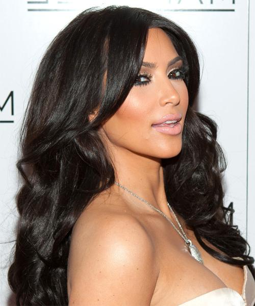 22 Kim Kardashian Hairstyles, Hair Cuts And Colors Regarding Kim Kardashian Long Haircuts (View 7 of 25)
