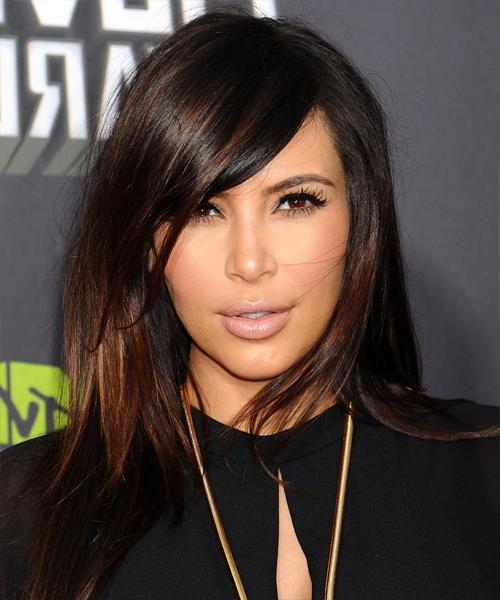 22 Kim Kardashian Hairstyles, Hair Cuts And Colors With Regard To Kim Kardashian Long Haircuts (View 10 of 25)
