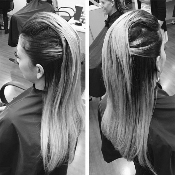 22 New Half Up Half Down Hairstyles Trends – Popular Haircuts With Regard To Long Hairstyles Down Straight (View 4 of 25)