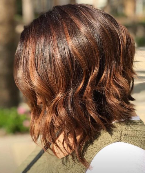 22 Perfect Medium Length Hairstyles For Thin Hair In 2019 For Messy Layered Haircuts For Fine Hair (View 18 of 24)