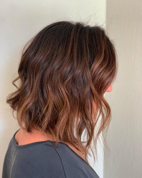 22 Perfect Medium Length Hairstyles For Thin Hair In 2019 Throughout Medium Long Hairstyles For Thin Hair (View 5 of 25)