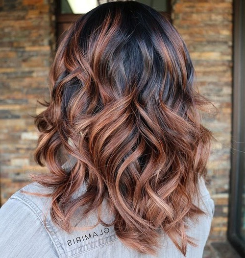 22 Trendy And Tasteful Two Tone Hairstyle You'll Love – Popular Haircuts In Black And Brown Layered Haircuts For Long Hair (View 24 of 25)