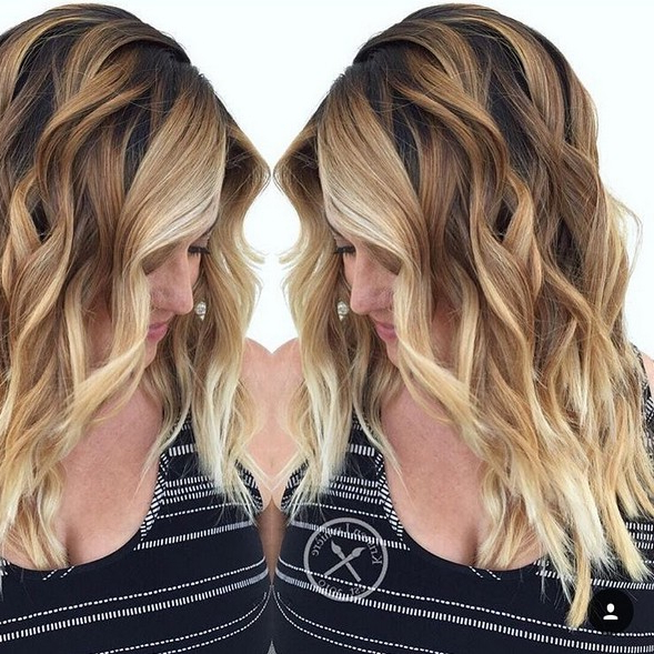 Featured Photo of Two Tone Long Hairstyles