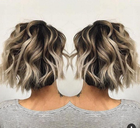 22 Trendy Short Haircut Ideas For 2019: Straight, Curly Hair With Long Hairstyles Shaved Underneath (View 11 of 25)