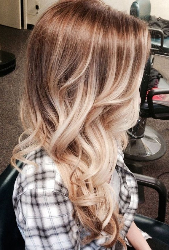 23 Best New Hairstyles For Fine Straight Hair – Popular Haircuts For Long Layered Ombre Hairstyles (View 11 of 25)