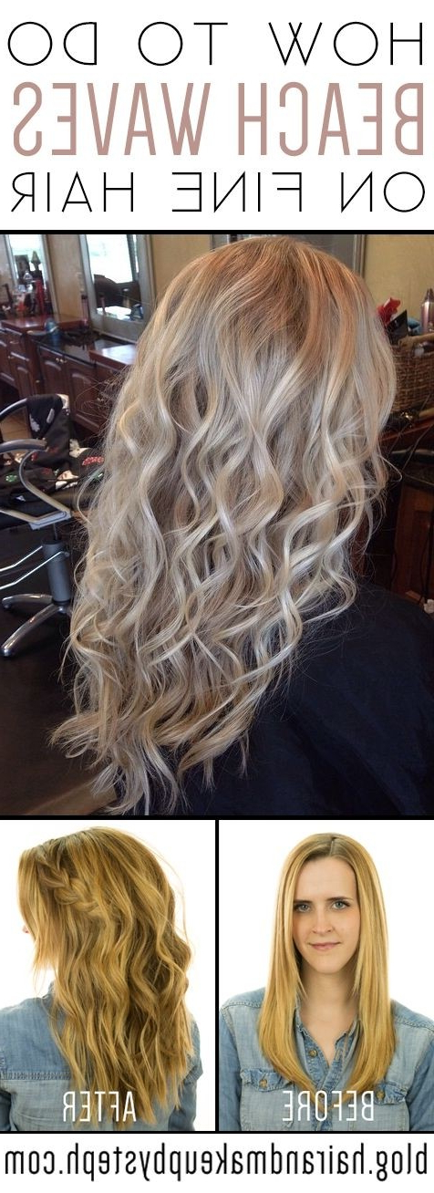 23 Best New Hairstyles For Fine Straight Hair – Popular Haircuts Pertaining To Long Hairstyles For Very Fine Hair (View 12 of 25)