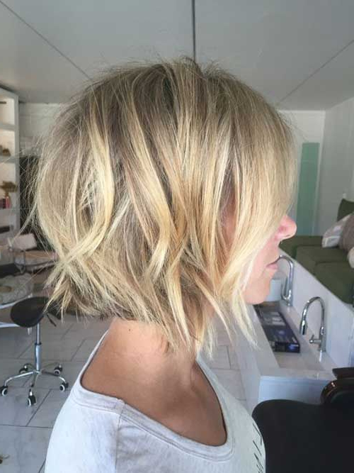 Featured Photo of Blonde Textured Haircuts With Angled Layers