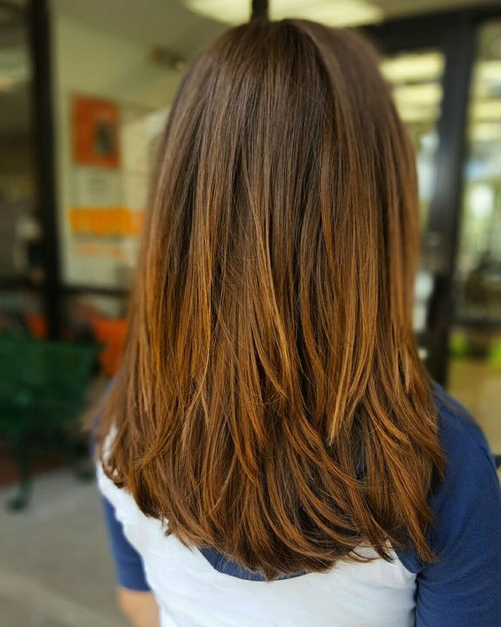 23 Chic Layered Haircuts For Various Hair Lengths – Styleoholic Pertaining To Choppy Layers Long Hairstyles With Highlights (View 21 of 25)