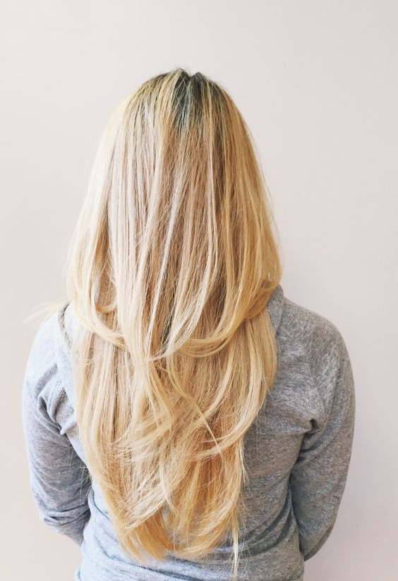 23 Chic Layered Haircuts For Various Hair Lengths – Styleoholic With Regard To Straight And Chic Long Layers Hairstyles (View 4 of 25)