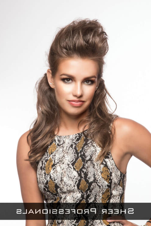 23 Gorgeous Formal Half Updos You'll Fall In Love With Within Long Hairstyles Half (View 25 of 25)