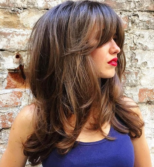23 Long Hairstyles To Get A Perfect Look This Season For Layered With A Flip For Long Hairstyles (View 15 of 25)