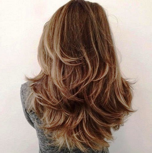 23 Long Hairstyles To Get A Perfect Look This Season Inside Choppy Dimensional Layers For Balayage Long Hairstyles (View 17 of 25)