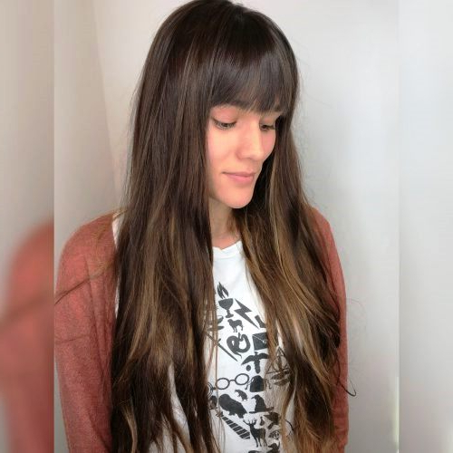 23 Long Hairstyles To Get A Perfect Look This Season Intended For Long Haircuts Styles With Bangs (View 19 of 25)