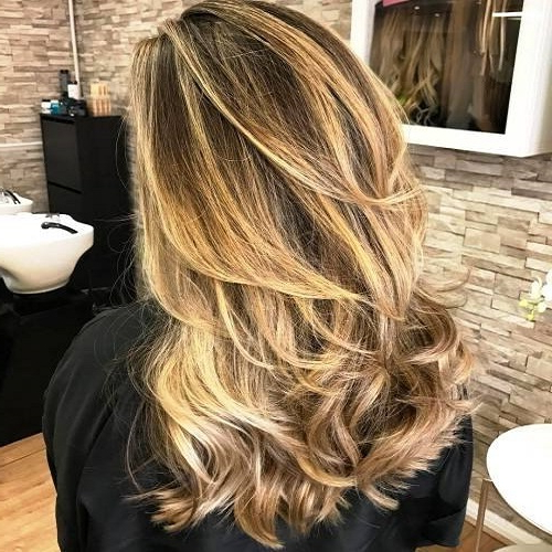 23 Long Hairstyles To Get A Perfect Look This Season Within Choppy Dimensional Layers For Balayage Long Hairstyles (View 7 of 25)