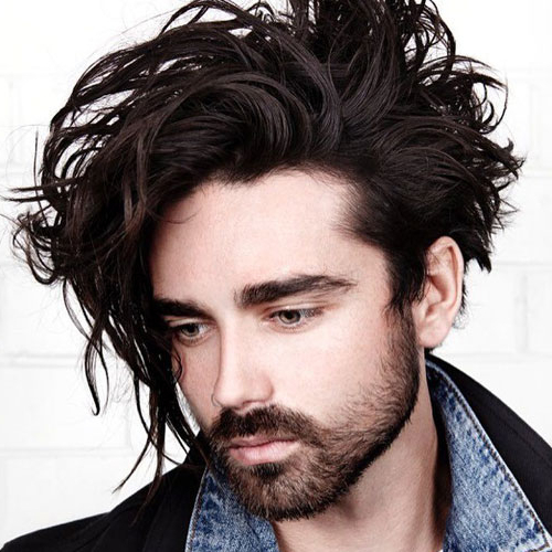 23 Men With Long Hair That Look Good (2019 Guide) With Hairstyles For Men With Long Curly Hair (View 19 of 25)