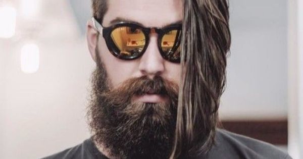 23 Perfect Long Hairstyles With A Short Beard Within One Side Long Hairstyles (View 17 of 25)