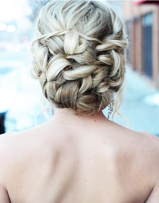 23 Prom Hairstyles Ideas For Long Hair – Popular Haircuts Within Romantic Prom Updos With Braids (View 13 of 25)