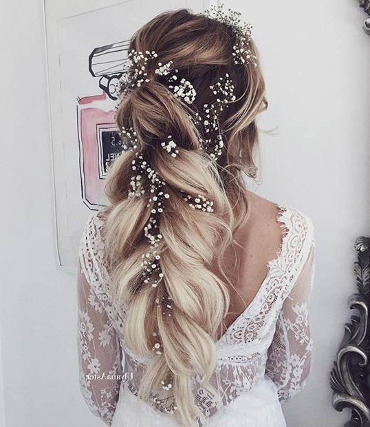23 Romantic Wedding Hairstyles For Long Hair | Stayglam Inside Bridal Long Hairstyles (View 12 of 25)