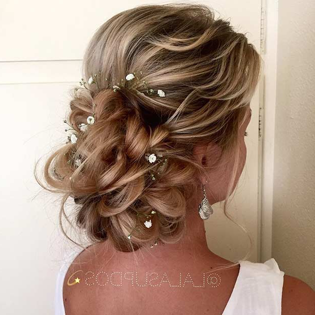23 Romantic Wedding Hairstyles For Long Hair | Stayglam Pertaining To Wedding Long Hairdos (View 15 of 25)