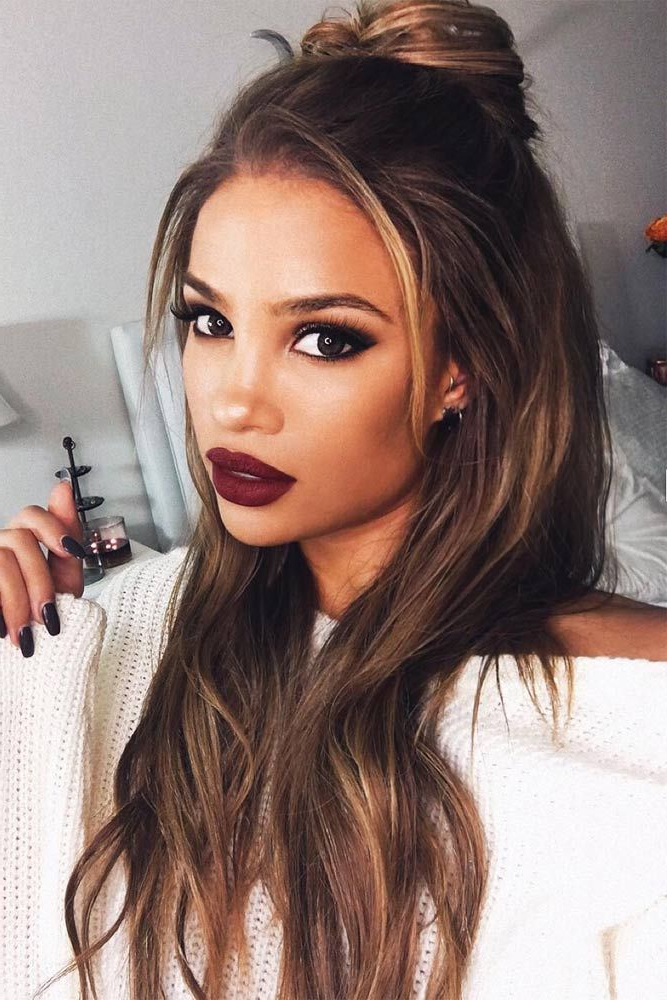 23 Super Easy Long Hairstyles Girls Will Love | Everything Makeup With Long Hairstyles For Women (View 15 of 25)