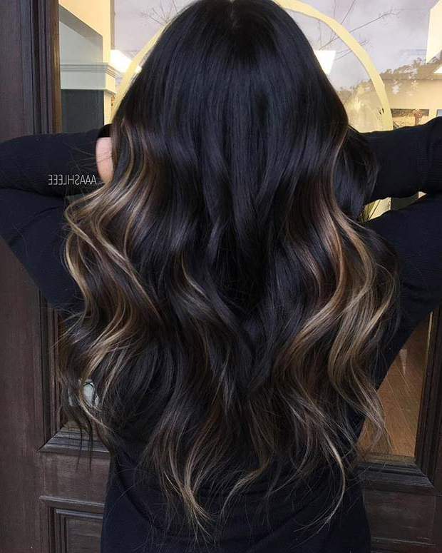 23 Unique Hair Color Ideas For 2018 | Stayglam Throughout Long Hairstyles With Color (View 9 of 25)