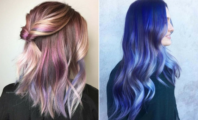 23 Unique Hair Color Ideas For 2018 | Stayglam Within Long Hairstyles With Color (View 3 of 25)