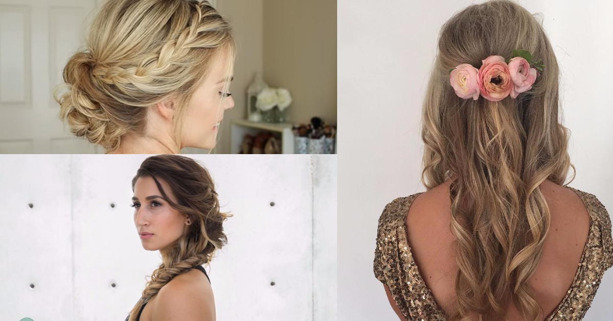 24 Beautiful Bridesmaid Hairstyles For Any Wedding – The Goddess With Regard To Long Hairstyles For Wedding Party (View 21 of 25)
