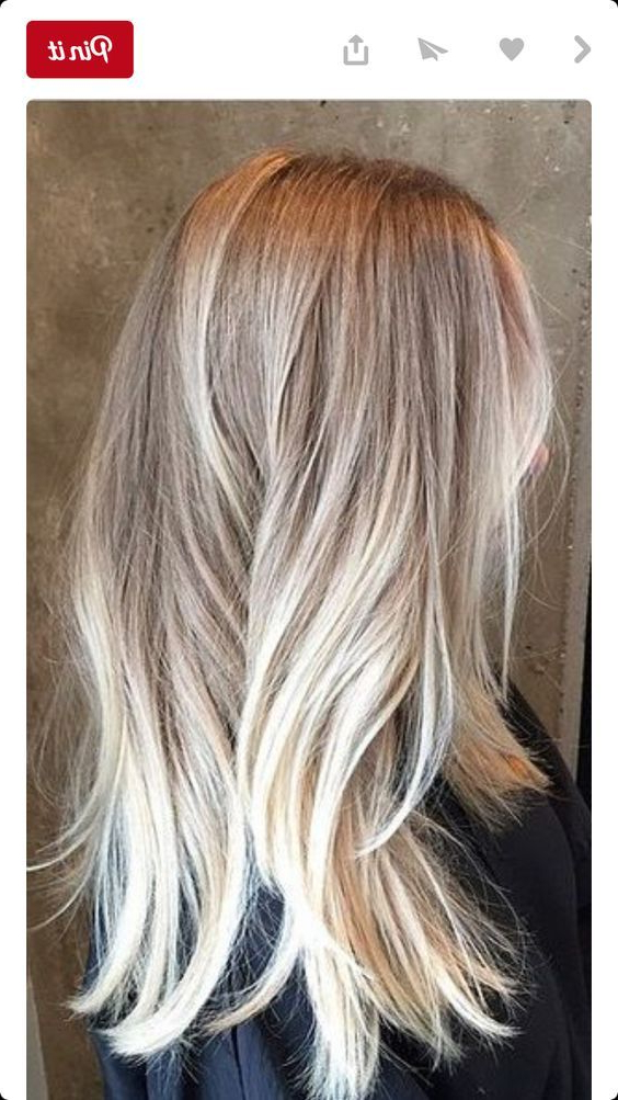 24 Champagne Blonde Hairstyles For Women | Hair Color | Hair, Ash Regarding Long Blonde Choppy Hairstyles (View 13 of 25)