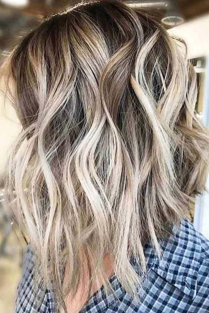 24 Ideas Of How To Sport Popular Shag Hairstyles Today | Medium Intended For Long Brown Shag Hairstyles With Blonde Highlights (View 6 of 25)