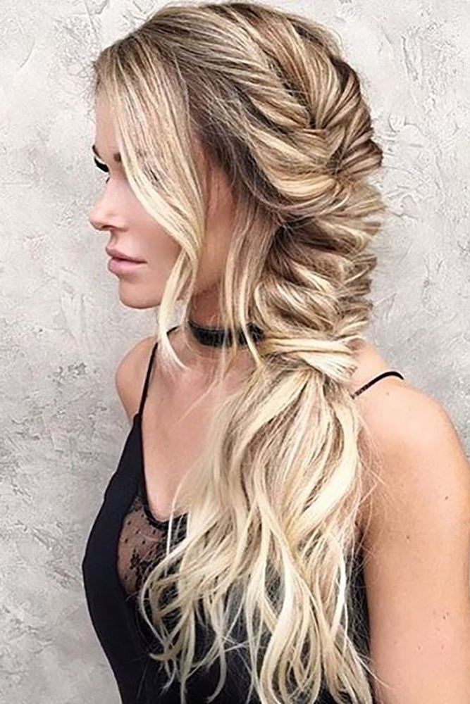 24 Pony Tail Hairstyles Wedding Party Perfect Ideas   Hair   Long With Long Hairstyles For A Party (View 5 of 25)